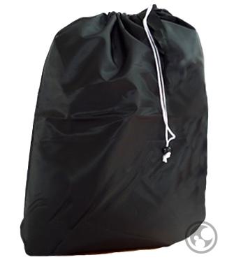 Black Laundry Bag Wholesale Small Nylon With Drawstring