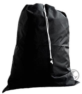 Laundry Bag Extra Large Black With Heavy Duty Drawstring