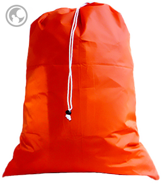 Extra Large Nylon Laundry Bag, Orange