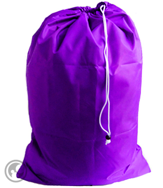 Extra Large Nylon Laundry Bag, Purple