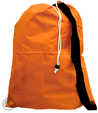 Strap Laundry Bags Bulk Drawstring Orange Free Shipping